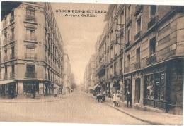 92 - COURBEVOIE - Bécon-les-Bruyères - Avenue Galliéni écrite TTB - Other Municipalities