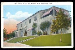 Cpa Etats Unis Californie Hollywood , Home Of The Late Wallace Reid     AO43 - Etats-Unis