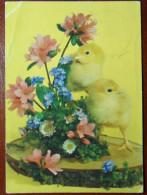 GERMANIA 1977 30 Marzo WULFRATH Frohe Ostern - CARTOLINA AUGURI DI Buona Pasqua X GALATONE  ITALIA - VEDI FOTO - Non Classificati