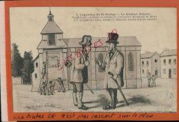 CPA NIEVRE  FANTAISIES  HUMOUR  ,  Légendes De Saint Saulge   LE Cadran Solaire  NOV  2014 DIV 087 - Künstlerkarten