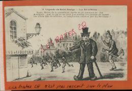 CPA NIEVRE  FANTAISIES  HUMOUR  ,  Légendes De Saint Saulge   Les Réverbères  NOV  2014 DIV 089 - Künstlerkarten