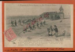 CPA NIEVRE  FANTAISES  HUMOUR  ,  Légendes De Saint Saulge La Corde De Laine    NOV  2014 DIV 099 - Künstlerkarten