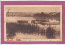 27.- NOTRE-DAME-DE-L' ISLE  Restes De L' Ancien Barrage - France