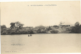 Cp Precurseur  -  RIVER GAMBIA - FATTATENDA    142 - Gambie