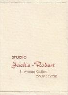 Porte Photos D'identité - Studio Jackie-Robert - 1 Avenue Galliéni à Courbevoie - FRANCO DE PORT - Ohne Zuordnung