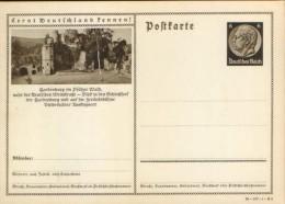 GERMANY/EMPIRE - Postal Stationery Postcard Unused - P236 ( 38-107-1-B6) -Hardenburg In Pfalzer Wald - Entiers Postaux