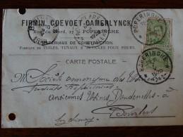 Oblitération Poperinge 1920 - Ufficio Di Transito