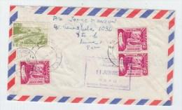 Peru/Switzerland REGISTERED AIRMAIL COVER 1957 - Peru