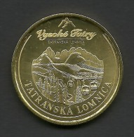 Slovakia, High Tatras, Tatranska Lomnica, Souvenir Jeton - Autres