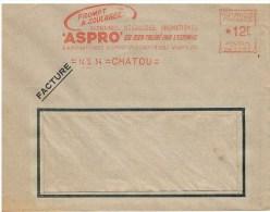 ENVELOPPE AVEC PUB - - Vieux Papiers