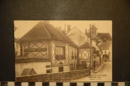 CP, 77, Montigny Sur Loing Hotel Du Coq Facade Edition LC RARE - Autres Communes