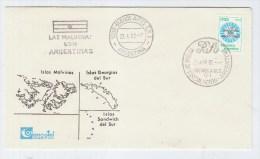 Argentina ISLAS MALVINAS FDC 1982 - Argentina