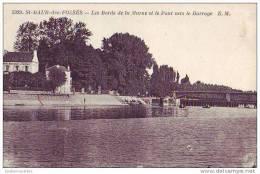SAINT MAUR - 94 - Les Bords De La Marne Et Le Pont Vers Le Barrage - Saint Maur Des Fosses