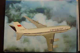 AIRLINES ISSUE / CARTE COMPAGNIE       AEROFLOT     IL 86 - 1946-....: Moderne