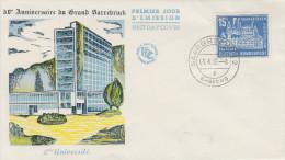 Enveloppe  1er  Jour  SARRE    SAARBRÜCKEN    1959 - FDC