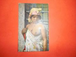 B608 Ragazza Araba Jeune Mauresque Cm14x8,5 No Viagg. - Cartoline