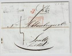 Schweiz, 1833,  Winterthur - Frankreich  , S437 - Schweiz