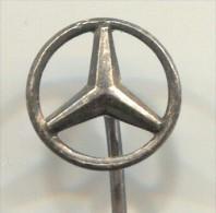 MERCEDES - Car, Auto, Vintage Pin, Badge - Mercedes