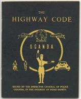 Uganda. The Highway Code, Road Safety. - Boeken, Tijdschriften, Stripverhalen