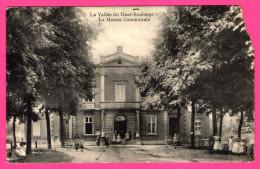 La Vallée Du Geer-Roclenge - La Maison Communale - Animée - Enfants - OLYFF - 1919 - Bassenge