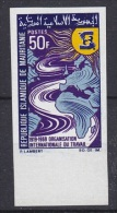 Mauretanie 1969 ILO 1v Imperforated ** Mnh (17972) - Mauritanië (1960-...)