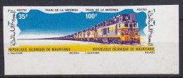 Mauretanie 1971 Train De La Miferma 1v Imperforated ** Mnh (17975) - Mauritanië (1960-...)