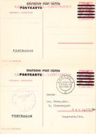 PS DEUTSCHE POST OSTEN,MINT AND USED,KRAKAU,POLAND - Allemagne