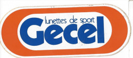 Autocollant Années 1983 Lunettes De Sport Gecel - Adesivi