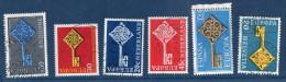 EUROPA--1968--Lot De 6 Timbres Oblitérés (Allemagne,Andorre,Espagne,Pays-Bas(2) Et Suisse) - Europa-CEPT