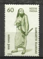India, 1988, Samarth Ramdas ,Philosopher,  MNH,  (**) - Inde
