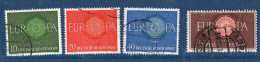 EUROPA--1960--Lot De 7 Timbres Oblitérés (Allemagne(3),Espagne,Italie(2) Et Suède) - Europa-CEPT