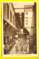 LEATHER BAZAAR : CAIRO EGYPTE - BAZAR CUIR & MARCHAND ARABE - MARCHE - MARKET - MERCATO  1758 - Cairo