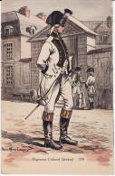 CPA - Régiment Colonel Général 1791 - Illustrateur Pierre Albert LEROUX - Neuve Bon état (lot 182) - Illustrateurs & Photographes