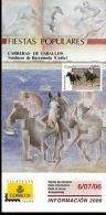 2006 Bollettino Bulletin Espana Carreras De Anallos Sanlucar De Barrameda Cadiz - Feste