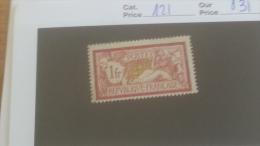 LOT 231510 TIMBRE DE FRANCE NEUF* N�121 VALEUR 31 EUROS
