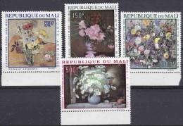 Mali 1968 Flowers 4v ** Mnh (17978) - Mali (1959-...)