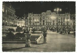 """1951, Rimini - """"Casino' Municipale E Grande Albergo"""" - Notturno - Rimini"""