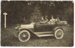 Carte Photo Voiture Ancienne Chevrolet - Voitures De Tourisme