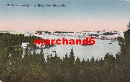 Bermudes Bermuda Harbour And City Of Hamilton éditeur Yankee Store - Bermudes