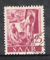 SARRE N°206 - 1947-56 Occupation Alliée