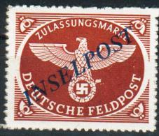 III.Reich-Inselpost, MiNr.10bI*, BPP, Pracht - Germania