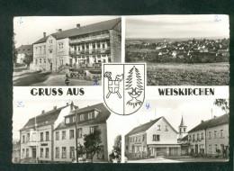 Gruss Aus Weiskirchen - Multivues Hotel Antz Teilansicht Rathaus Elektro Und Mobelgeschaft - Other