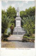 [DC5877] CARTOLINA - SALSOMAGGIORE - MONUMENTO ROMAGNOSI - Non Viaggiata - Old Postcard - Parma