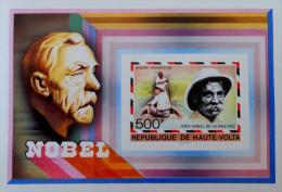 PRIX NOBEL 1977 - NEUF ** - YT BL 8 - MI BL 47A - NON-DENTELE - RARE !!! - Obervolta (1958-1984)