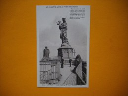 Cpa   LE PUY   -  43  - Statue Colossale De Notre Dame De France  -   Haute Loire - - Le Puy En Velay