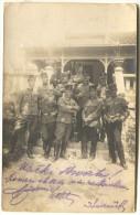 Austria, WW1 - K.u.K. Soldiers, Offiziers Kaffehaus, Etappenpost, Belgrad,1917. - Uniforms
