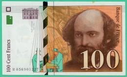 France - 100 Francs - Cézanne - N° R 05691227 -  1998 - Sup - 1992-2000 Dernière Gamme