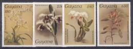Guyana 1987#305# Orchids Reichenbachia.Mi 1751/1754.MNH.Value 12,00 - Orchideeën