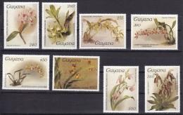 Guyana 1987#305# Orchids Reichenbachia.Mi 18391/1846.MNH.Value 16,00 - Orchideeën