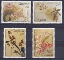 Guyana 1987#305# Orchids Reichenbachia.Mi 1966/1969.MNH.Value 20,00 - Orchideeën